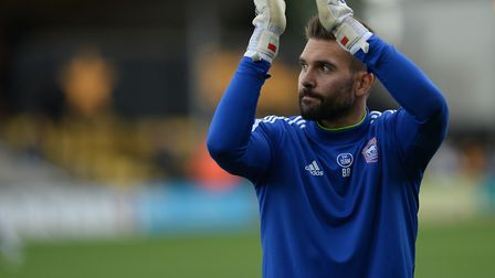 Bartosz Bialkowski played 178 times for Ipswich Town. Picture Pagepix