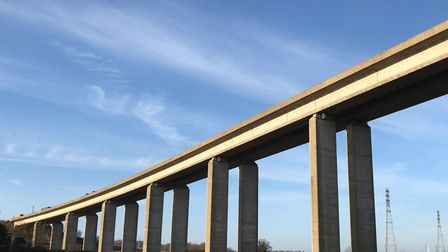 Closures of the Orwell Bridge have been much publicised in Suffolk. Picture: ARCHANT