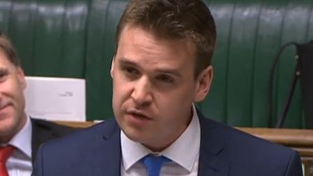 Tom Hunt said he was buoyed by a meeting with Highways England. Picture: HOUSE OF COMMONS