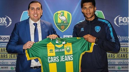 Ipswich Town defender Jordan Spence has signed for Dutch club ADO Den Haag. PICTURE: ADO
