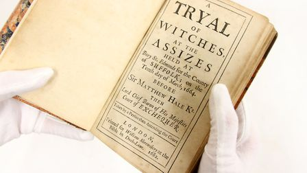 A Tryal of Witches at the Assizes held at Bury St Edmonds is being auctioned by Sworders. Picture: S
