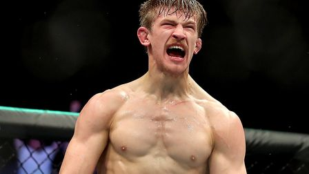 Suffolk's Arnold Allen is one of the best young fighters in the world. Picture: PA SPORT