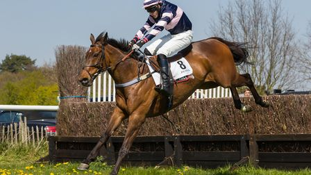 The Gunner Brady and Charlie Case were winners at Higham�s Easter meeting last season. Picture: GRAH