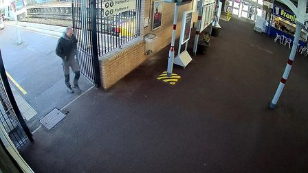CCTV pictures released for missing Lee Fitzgerald, from Gislingham near Diss. Picture: SUFFOLK CONST