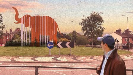 The elephant sculpture due to be built in Cowdray Avenue is one project the Conservatives have calle
