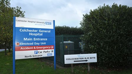 Colchester Hospital. Picture: SARAH LUCY BROWN