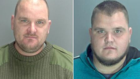 Guzzy Lee (left) and Kevin Lee Picture: NORFOLK CONSTABULARY