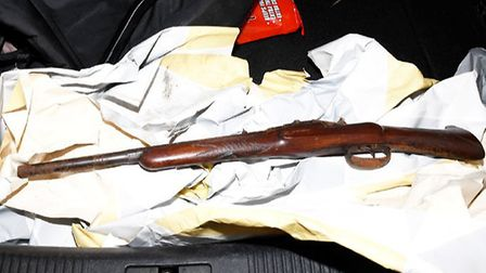The sawn-off shotgun sold to Holden Picture: NORFOLK CONSTABULARY