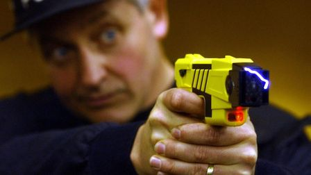Police officers drew a Taser at a man in Stowmarket believed to be in possession of a knife Picture