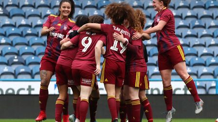 Tractor Girls progressed to the last 16 of the FA Cup after beating Huddersfield Town 4-1 at the Joh