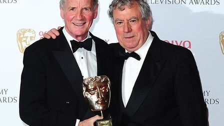 Terry Jones (right) and Michael Palin Picture: Ian West/PA Wire