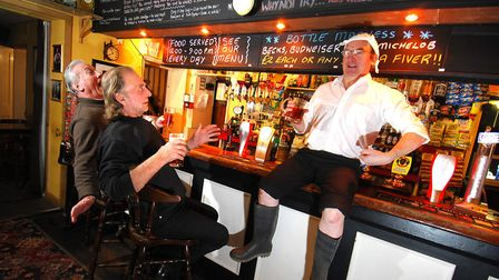 The Railway Tavern, Coltishall staged a Monty Python Night in 2009 - with free Spam for all Vikings,