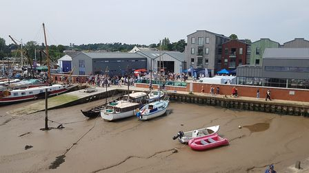 This year marks the 182nd Woodbridge Regatta and the change of date is to coincide with tide times a