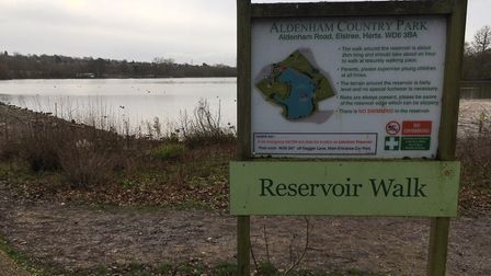 The setting for the weekly Aldenham parkrun. Picture: CARL MARSTON