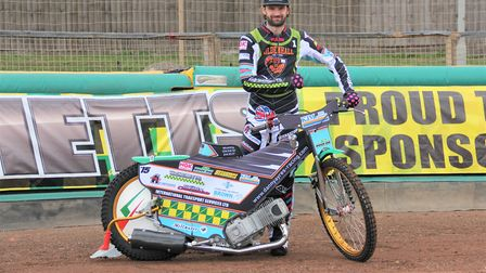 Danny Ayres was set to ride for Ipswich in 2020 Picture: Carol Downie