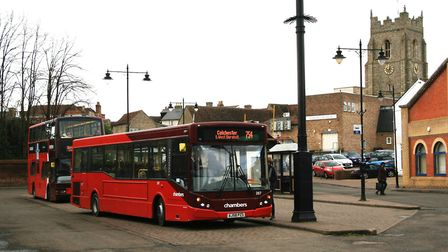 Proposals for the future of Sudbury town centre include moving buses from Hamilton Road bus station