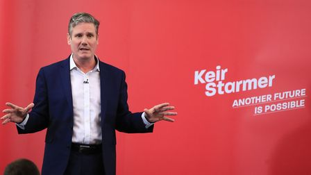 Labour MP Sir Keir Starmer is currently the favourite for the party leadership. Picture: Peter Byrne