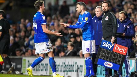 Cole Skuse replaced Emyr Huws from the bench at the weekend, but will the latter start again tonight