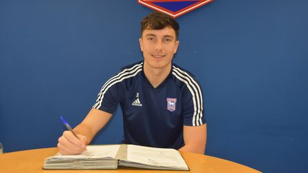 Ipswich Town have signed Josh Earl on loan from Preston until the end of the season. Picture: ITFC