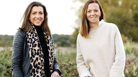 Sudbury sisters Alice Leet-Cook & Rosie Turner, founders of fashion brand Hicks & Brown, who made a