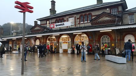 The number of passengers at Ipswich station increased by just under 2%. Picture: ARCHANT