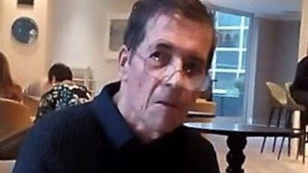 Have you seen missing Geoffrey Tuckwell from Colchester? Picture: ESSEX POLICE