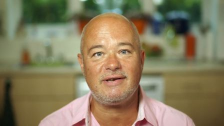 Steven from Bury St Edmunds on the How to Lose Weight Well programme, which airs on Monday, January