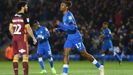 Peterborough United's Ivan Toney is League One's leading scorer - but Posh have struggled of late. P
