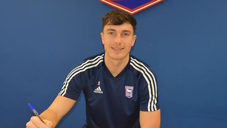Ipswich Town have signed Josh Earl on loan from Preston North End. Picture: ITFC