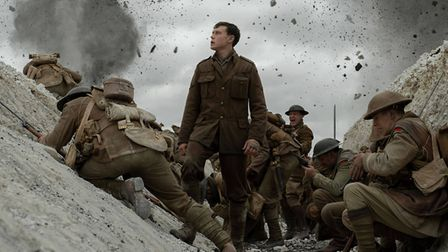 George MacKay in 1917 which has received 10 nominations in this year's Oscars ceremony Picture: FR