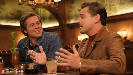 Brad Pitt and Leonardo Di Caprio in Once Upon A Time in Hollywood, one of the front runners for this