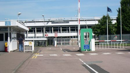 Sudbury is set to suffer a jobs blow with the shutting of its Delphi diesel systems factory Picture