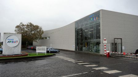 The Philips Avent site in Glemsford is being offered up for sale through Savills Picture: PHIL MORL