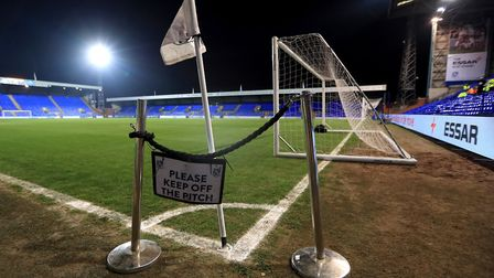 Ipswich Town's game at Tranmere tomorrow is scheduled to go ahead as it stands. Photo: PA