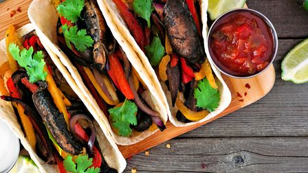 More people are choosing meat-free dishes like these mushroom steak tacos for health, animal welfare