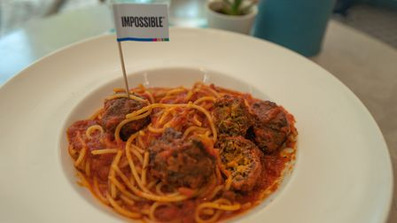 Impossible Foods are one of the leading brands selling meat-alternative products Picture: Getty I