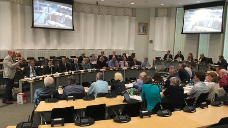Mid Suffolk District Council will debate the budget next month. Picture: JASON NOBLE