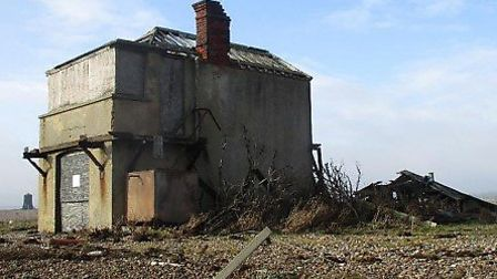 Orford Ness coastguard station Picture: NATIONAL TRUST