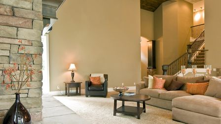 The right carpet can help you create a warm and inviting living space. Picture: Getty Images