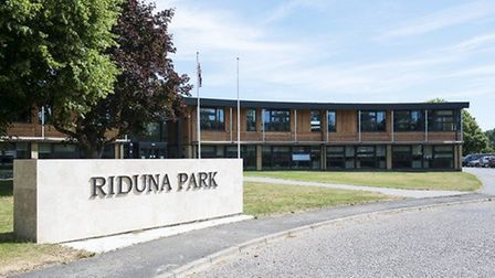 Riduna Park in Melton, where East Suffolk Council are based Picture: RIDUNA HOLDINGS