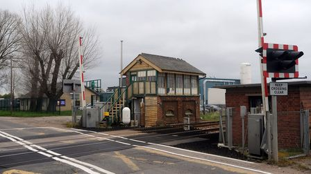 Williams smashed through level crossing barriers near Lakenheath railway station, Ipswich Crown Cour