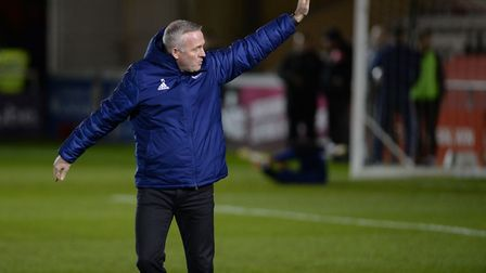 Paul Lambert salutes the ipswich fans before kick-off Picture Pagepix