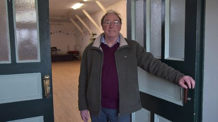 Trustee Simon Weeks remains hopeful the Rifle Hall will remain open. Picture: SONYA DUNCAN