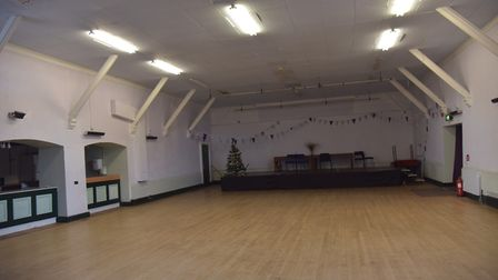 The Rifle Hall was refurbished when it was taken over the Rifle Hall Trust. Picture: SONYA DUNCAN