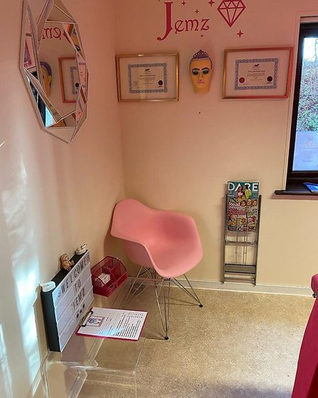 Inside JEMZ Professional Body Piercing at the former Clare Police Station. Picture: JENNA-LEE FOURIE