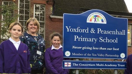 Yoxford and Peasenhall Primary is to have its swimming pool given a makeover Picture: YOXFORD AND P
