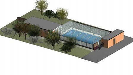 The proposed swimming pool for Yoxford and Peasenhall Primary Academy Picture: PCH ASSOCIATES LTD/SC