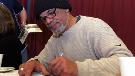Actor Paul Barber who lives near Clacton at the Only Fools and Horses convension at Charter Hall i