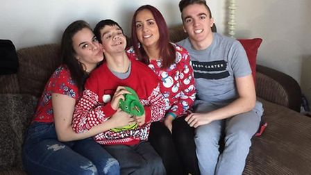 Tyler Bird has Williams Syndrome, a genetic disorder which means he cannot speak or walk, and lives