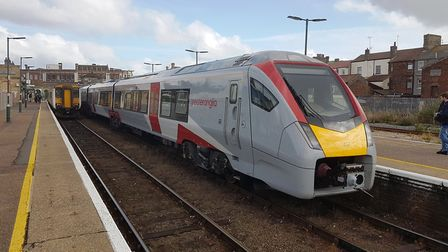 East Suffolk line trains from Lowestoft to Ipswich were cancelled again. Picture: PAUL GEATER